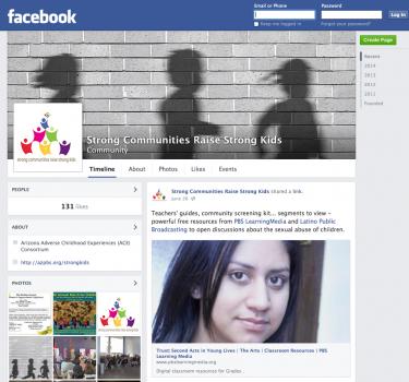 Arizona ACE Consortium's Facebook Page - Strong Communities Raise Strong Kids