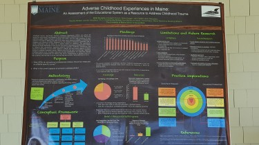 Poster Presentation from University of Maine School of Social Work