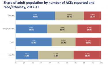 Iowa ACE Data by Ethnicity